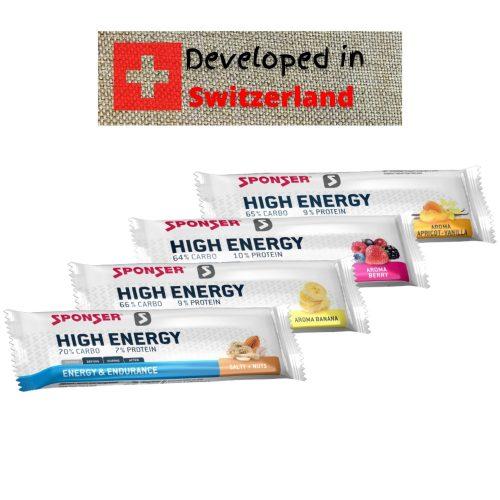 חטיף אנרגיה Sponser HIGH ENERGY BAR